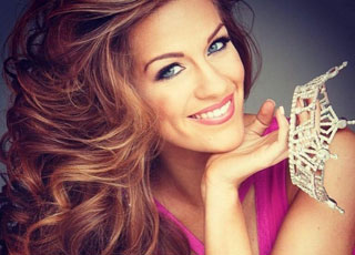 Ngắm nhan sắc rực rỡ của tân Hoa hậu Mỹ 2015