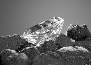 Phát hiện hòn đá hiếm chứa 30.000 viên kim cương
